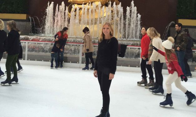 how to ice skate for the first time