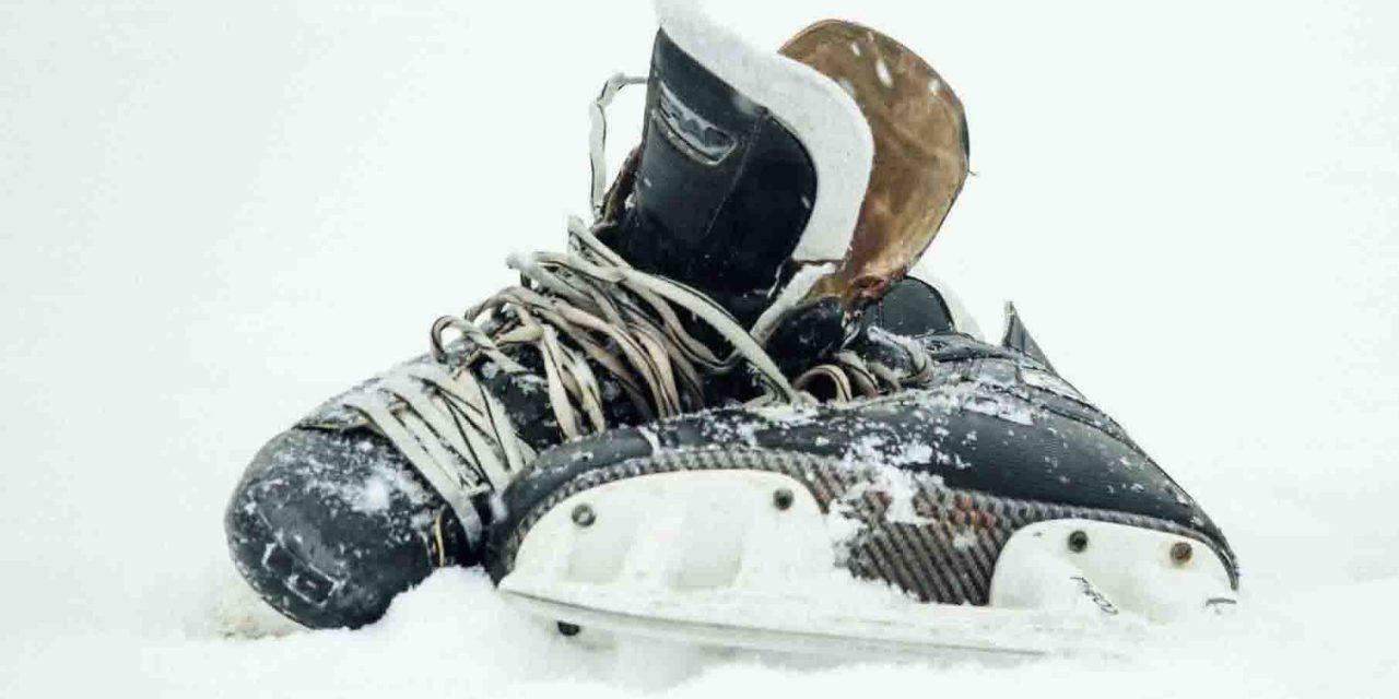 Можно ли кататься на коньках во время снегопада?