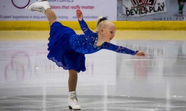 being the parents of a figure skater, Romy Davies-Jeans