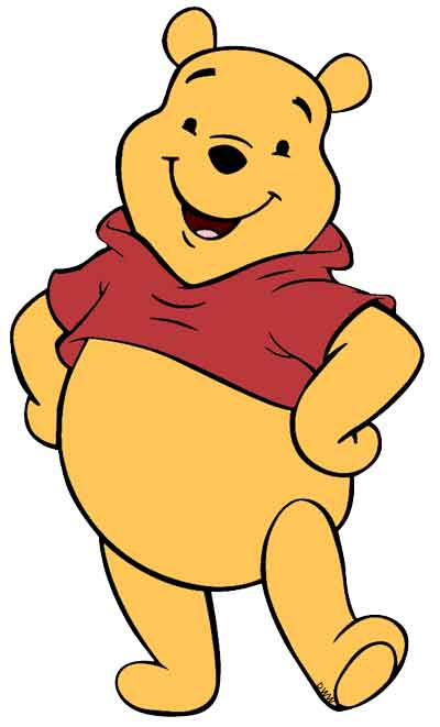 Winnie the Pooh is the most common soft teddy given to figure skaters