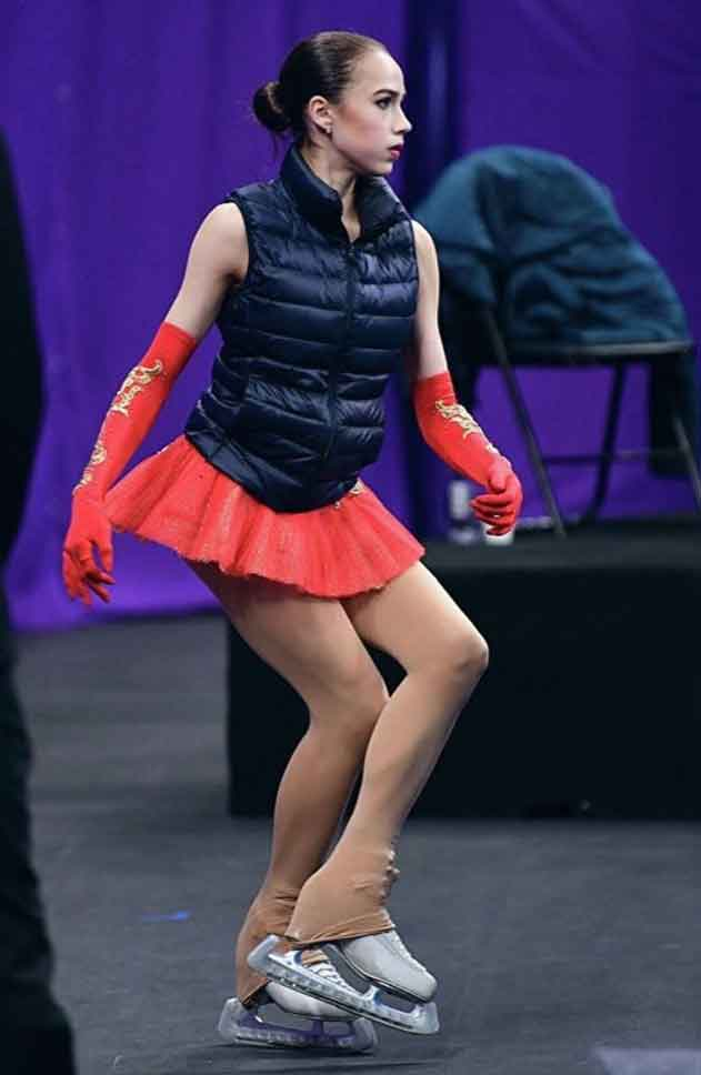 Sturrip tights worn by figure skater Alina